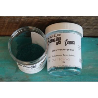 Glitter turquoise 10g